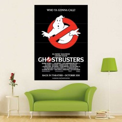Ghostbusters Block Giant Wall Art Poster (P-2515)